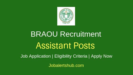 DR. BRAOU Assistant Job Notification