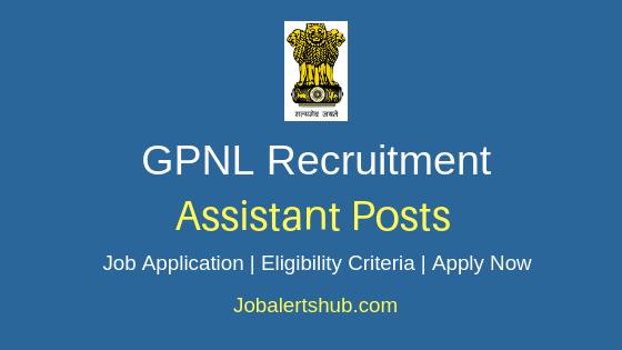 GPNL Assistant Job Notification