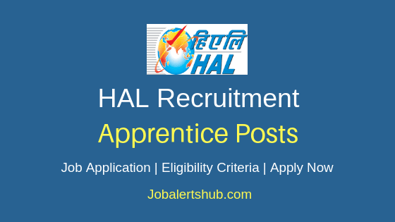 HAL Apprentice Job Notification