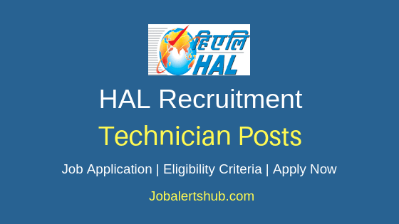 HAL Technician Job Notification