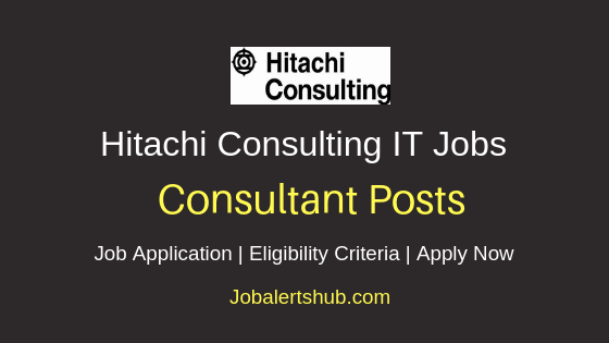 Hitachi Consulting Consultant Job Notification