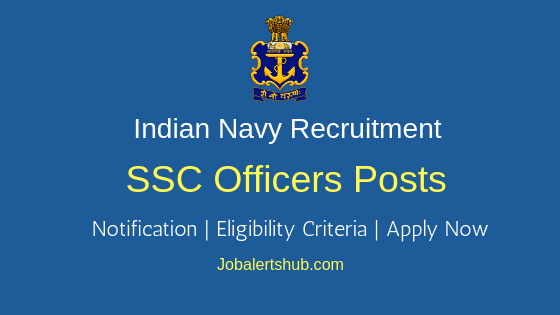 Indian Navy SSC Job Notification