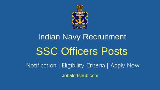 Indian Navy SSC Job Notification