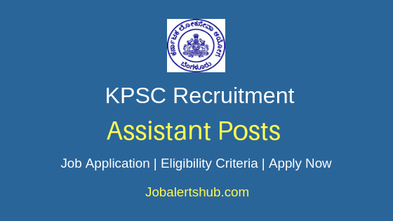 KPSC Assistant Job Notification