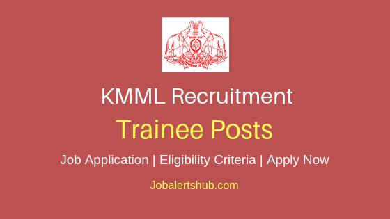 KMML Trainee Job Notification