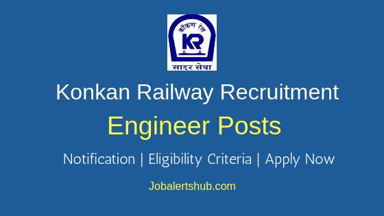 KRCL Engineer Job Notification