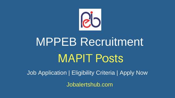 MPPEB MAPIT Job Notification