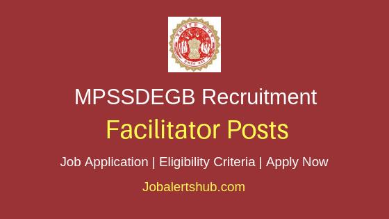 MPSSDEGB Facilitator Job Notification