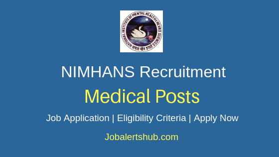NIMHANS Medical Job Notification