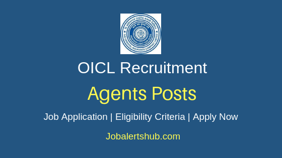 OICL Agents Job Notification
