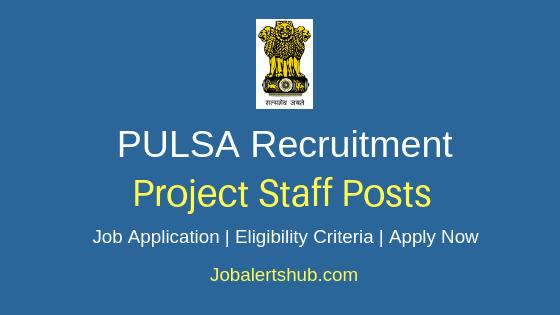 PUSLA Project Staff Job Notification