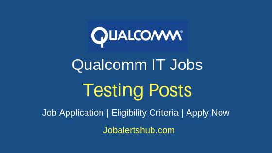 Qualcomm Testing Job Notification