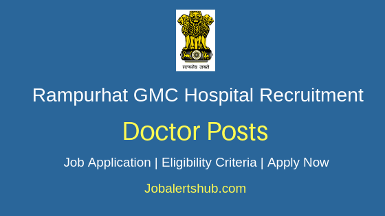 RPHGMCH Doctor Job Notification