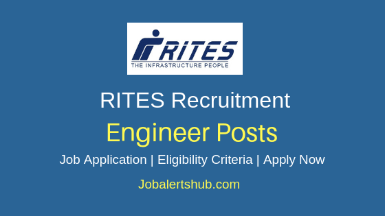 RITES Ltd Engineer Job Notification