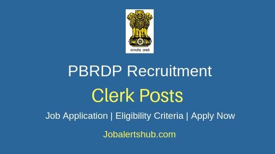 PBRDP Clerk Job Notification