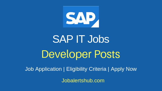 SAP India Pvt. Ltd Developer Job Notification