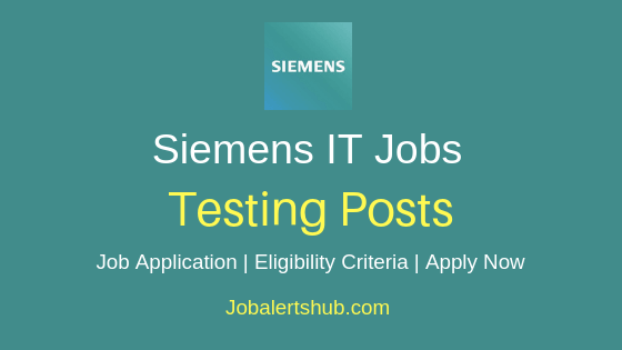 Siemens Testing Job Notification