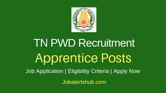 TN PWD Apprentice Job Notification