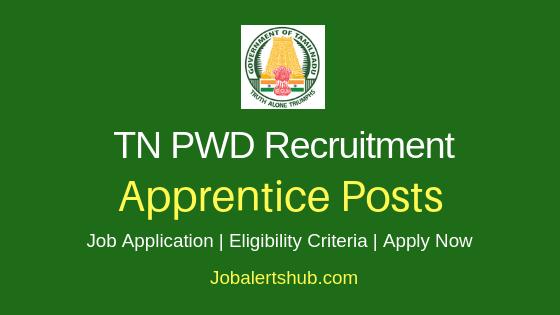 TN PWD Apprentice Job Notification