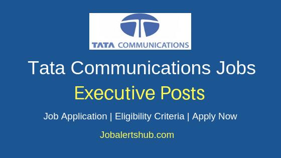 Tata Communications Executive Job Notification