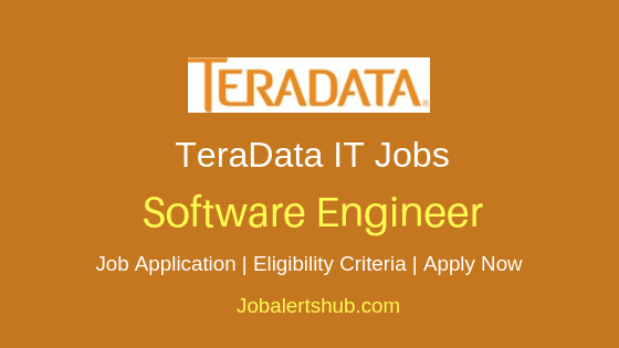 TeraData Software Engineer Job Notification