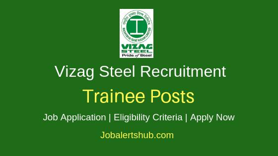 Visakhapatnam Steel Plant Trainee Job Notification