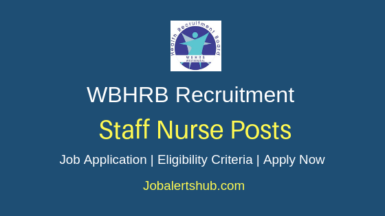 WBHRB Staff Nurse job Notification