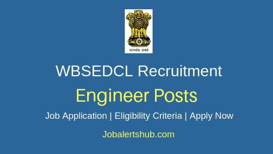 WBSEDCL Engineer Job Notification