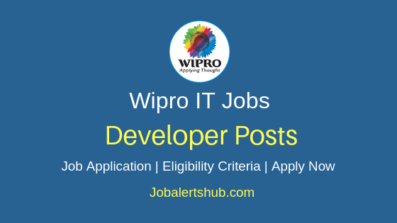 Wipro Limited Developer Job Notification
