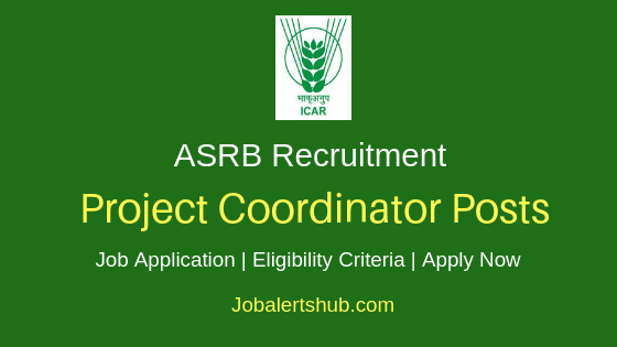 ASRB Project Coordinator Job Notification