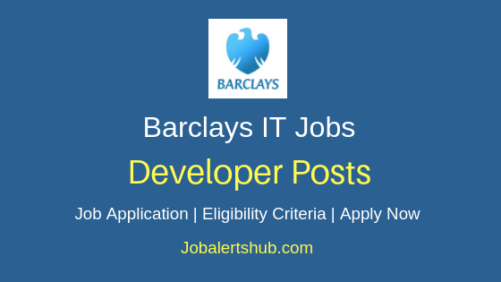 Barclays Developer Job Notification