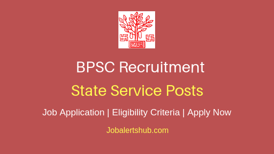 BPSC State Service Job Notification