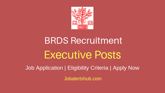 BRDS Executive Job Notification