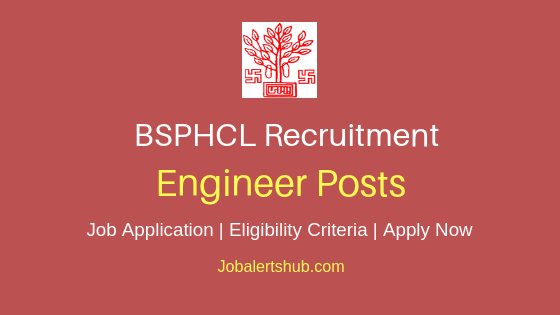 BSPHCL Engineer Job Notification