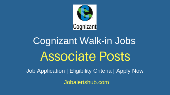 Cognizant Technology Solutions India Ltd Associate Job Notification