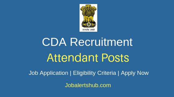 CDA Attendant Job Notification