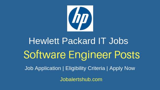 Hewlett Packard Software Engineer Job Notification