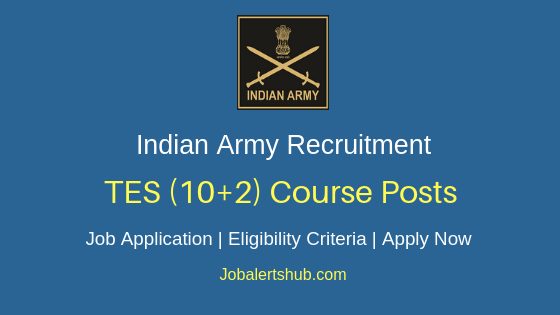 Indian Army Technical Entry Job Notification
