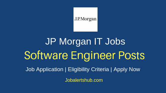 JP Morgan Software Engineer Job Notification