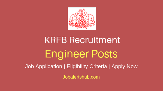 KRFB Engineer Job Notification