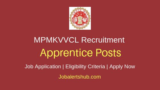 MPMKVVCL Apprentice Job Notification