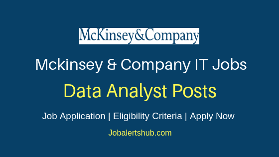 Mckinsey Data Analyst Job Notification