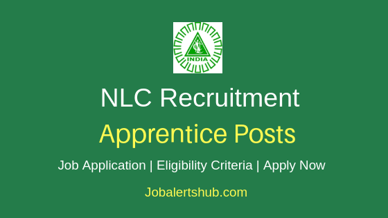 NLC Apprentice Job Notification