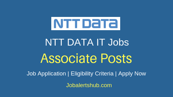 NTT DATA Services Associate Job Notification