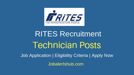 RITES Limited Technician Job Notification