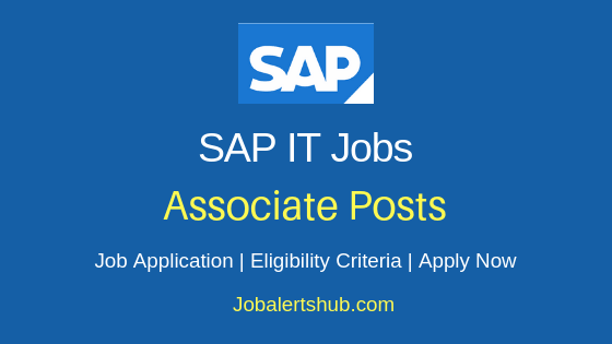 SAP India Pvt Ltd Associate Job Notification