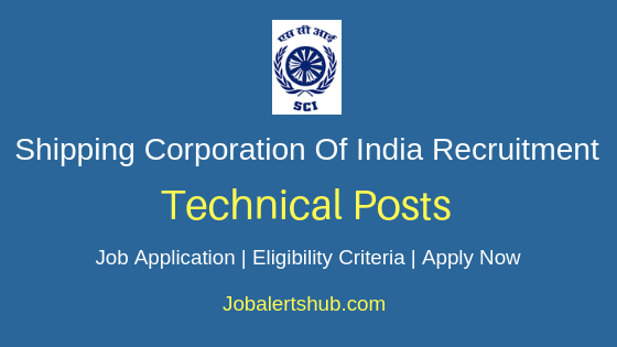 SCI Technical Job Notification