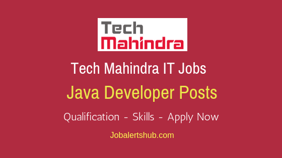 Tech Mahindra Java Developer Job Notification