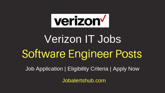 Verizon Software Engineer Job Notification