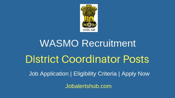 WASMO  District Coordinator Job Notification